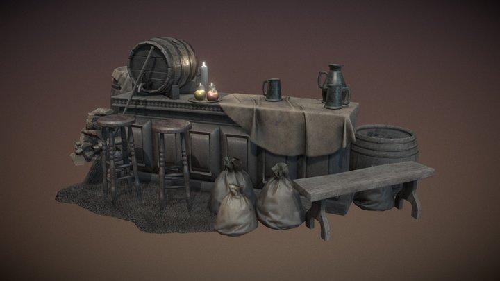 Old Tavern Bundle 1 (of 2) 3D Model