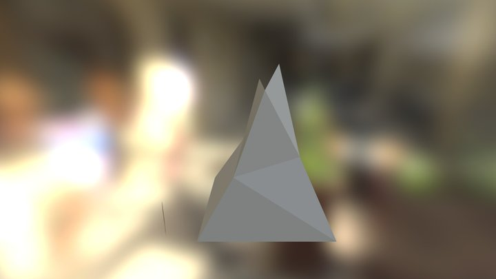 Mountain Model 3D Model