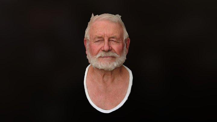 Elderly man 3D Model