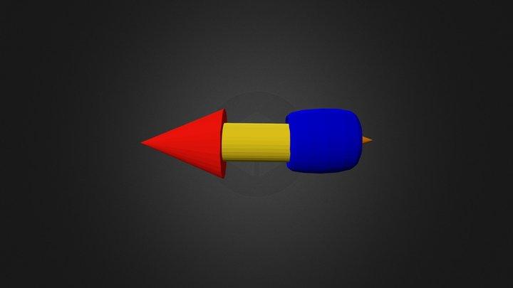 Missle 3D Model