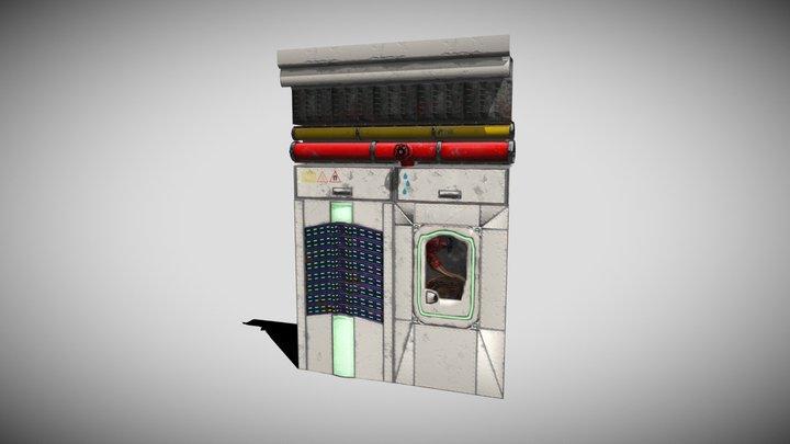 Murs Sci-Fi 3D Model