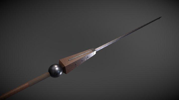 Pilum / Heavy roman javelin 3D Model
