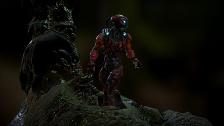 Cyber_warrior 3D Model