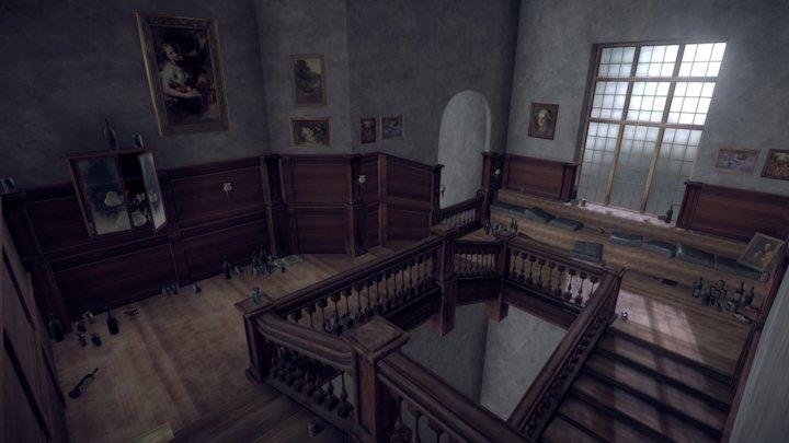 Eleanor's Stairway 3D Model