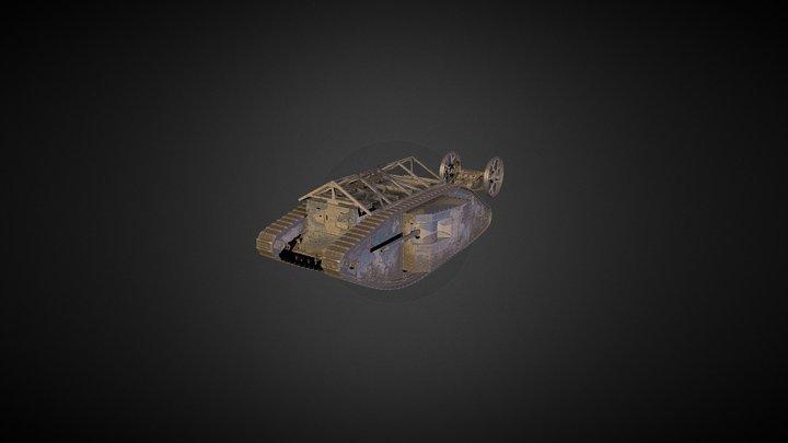 Mark I Male 3D Model