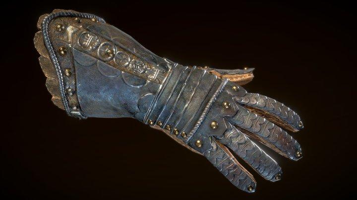 Medieval VR Hands 3D Model