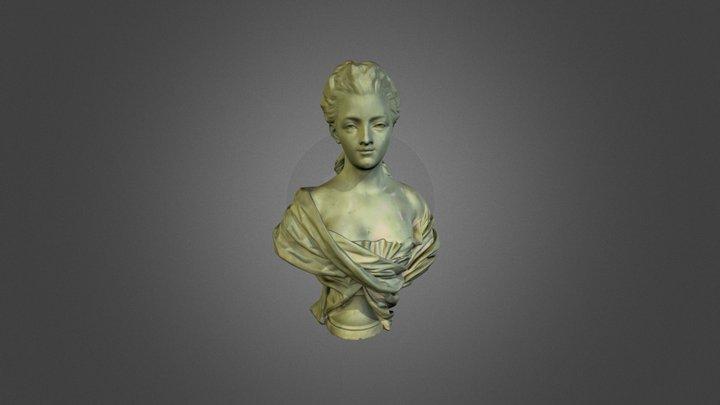 Portrait of a Woman, arts-museum 3D Model