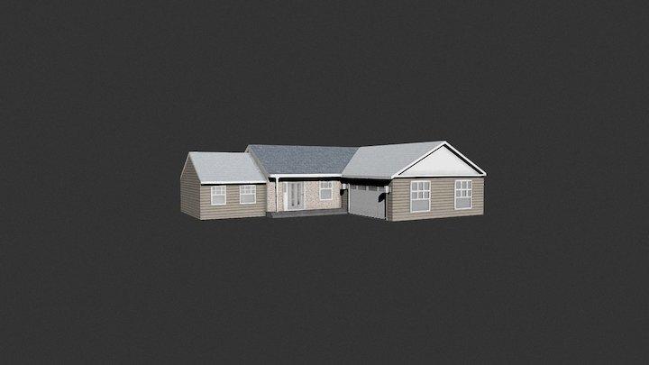 med house game asset 3D Model