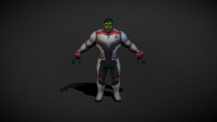 Professor Hulk Endgame 3D Model