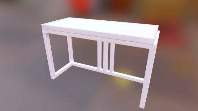 Entrance Table 3D Model