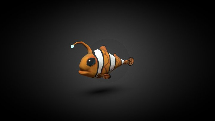 Fish - Cartoon and Hand painted 3D Model