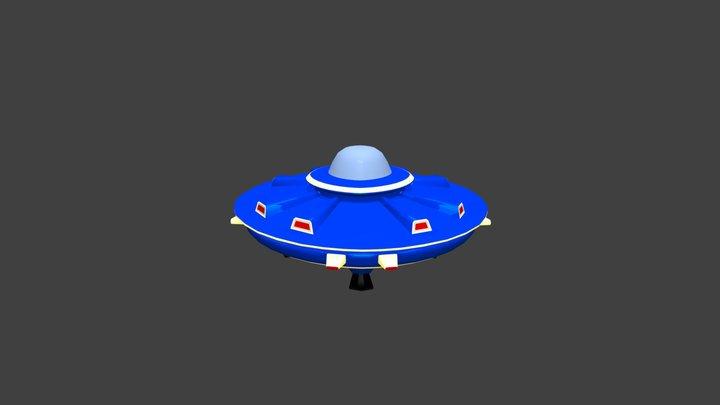 UFO. 3D Model
