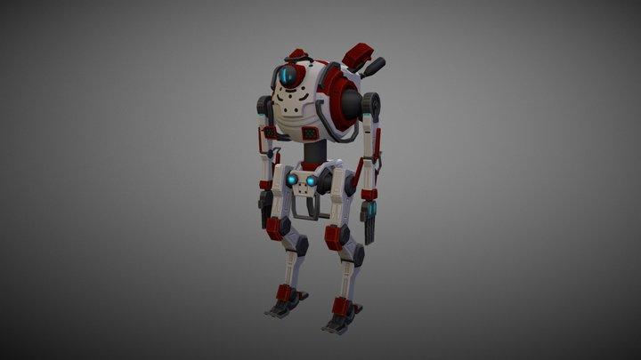 Northstar Titan - Low Poly 3D Model