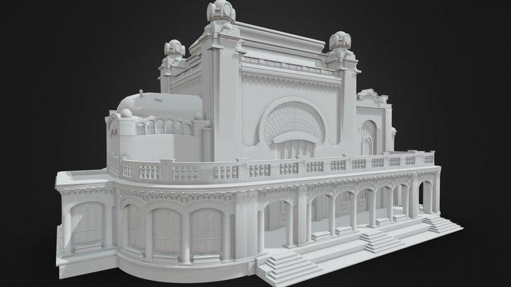 Constanta Casino Building 3D Model