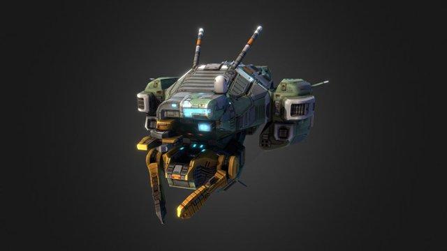 Taiidan Republic Resource Collector 3D Model