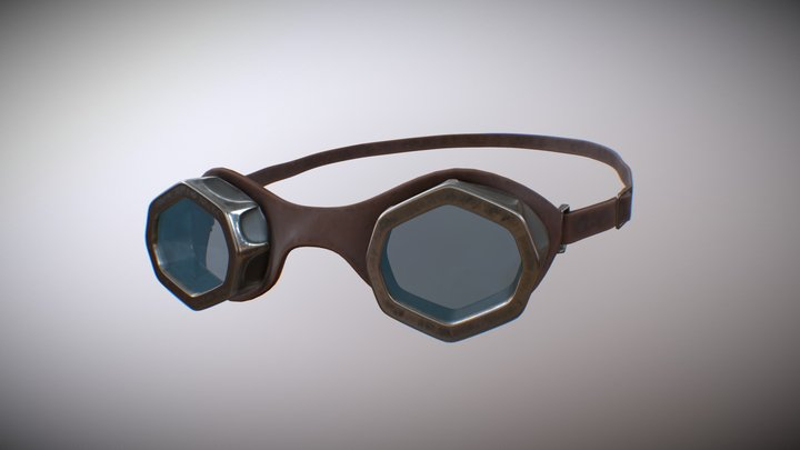 Herbert's Goggles 3D Model