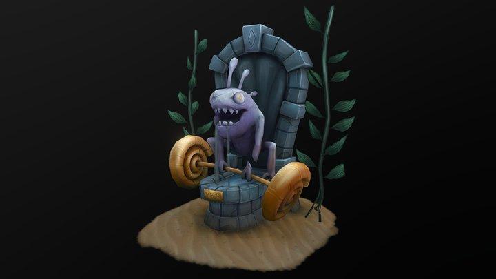 Murloc Fountain - Jumba 3D Model