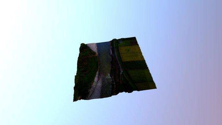 井田川3次元モデリング 3D Model