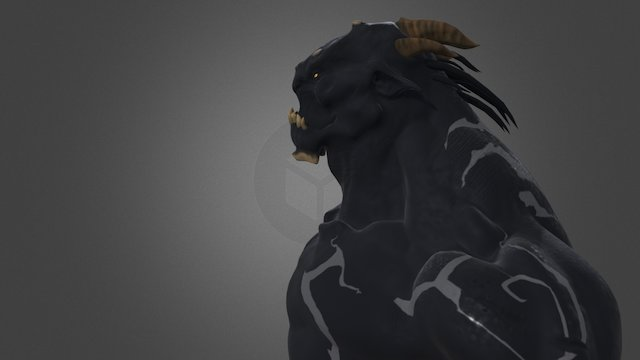 Demon Joe 3D Model