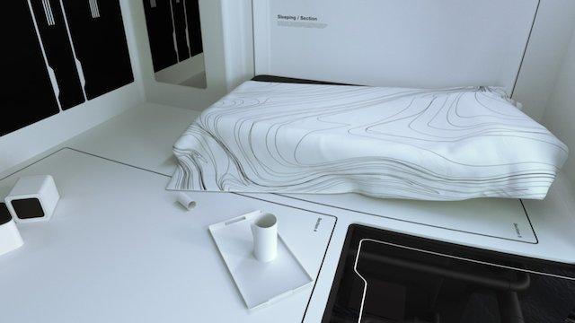 Solaris / Concept interior design. 3D Model