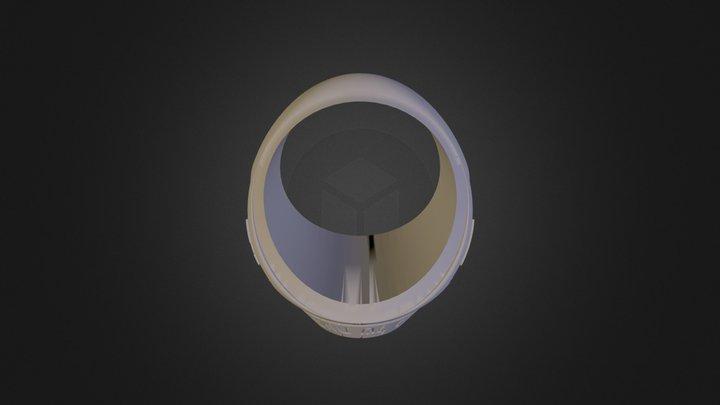 טבעת נרקיססטית צבועה 3D Model