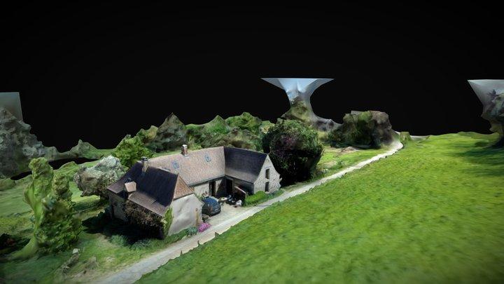 Maison Dordogne 3D Model