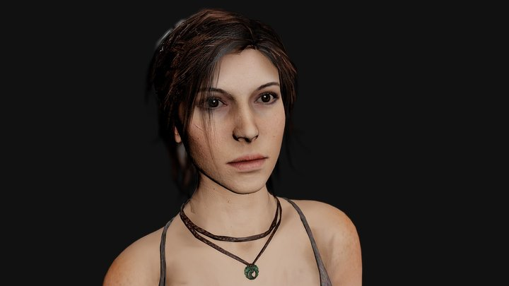 ROTTR: LaraCroft 3D Model