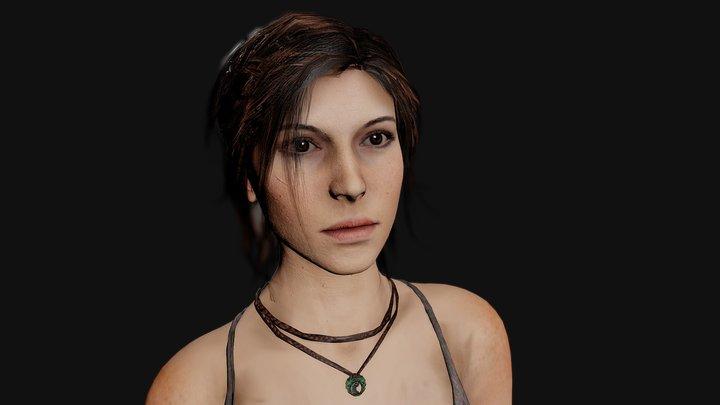 ROTTR: LaraCroft 3D Model