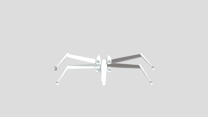 Xwing3 3D Model