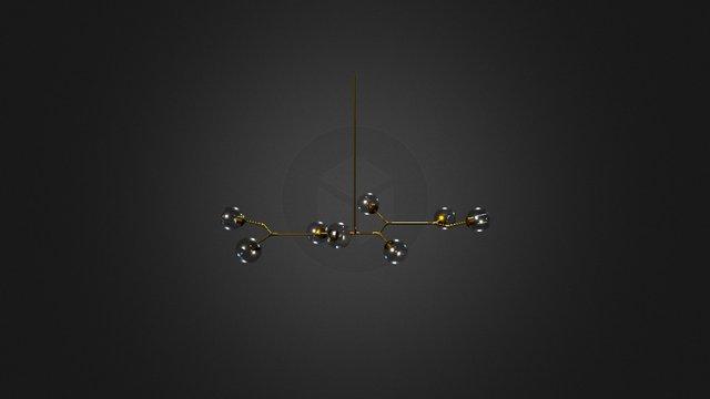 Branch Light 5 3D Model
