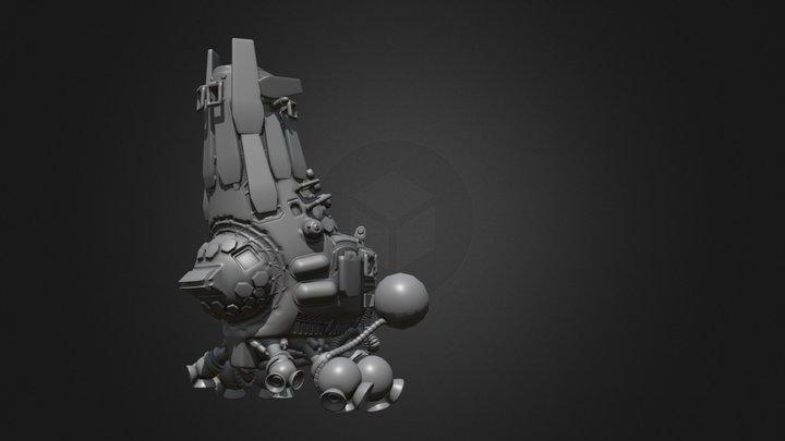Floating junker-craft 3D Model