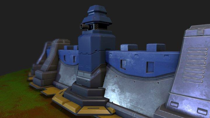Dota Tower 3D Model