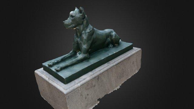 Perro Plaza Santa Ana 3D Model