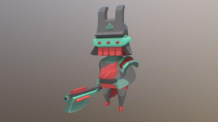 Raider Capitan 3D Model