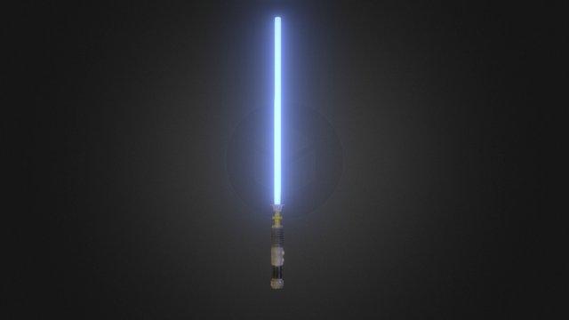 Lightsaber Test WIP 3D Model