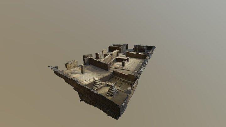 Pointe-à-Callière - Vestiges de la Salle multi 3D Model