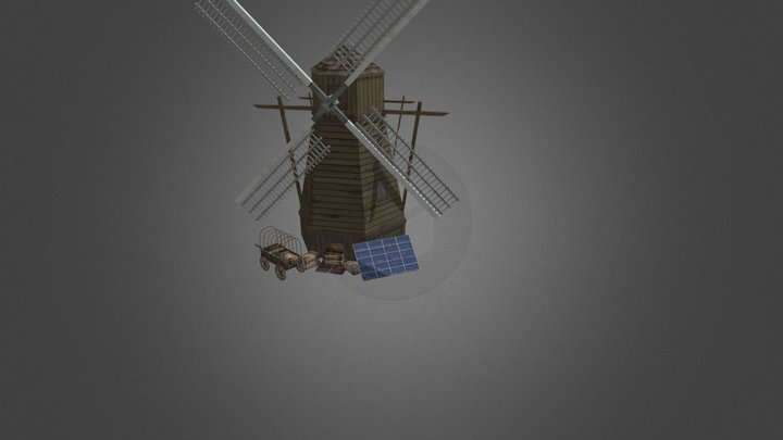 1DAE15 Willem Verheughe - The Walking Dead Props 3D Model