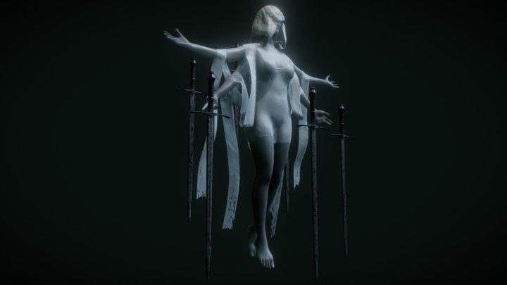The Queen of Swords 3D Model