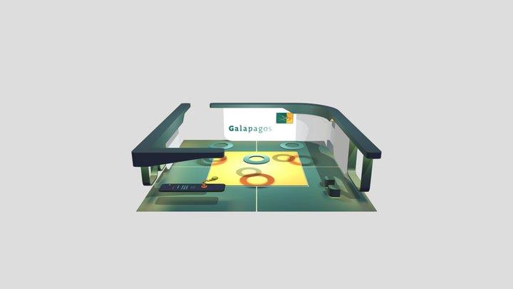 Galapagos Booth v1 3D Model
