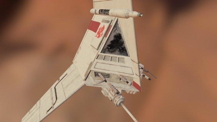 T16 - Skyhopper 3D Model