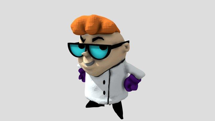 Dexter from Dexter's Laboratory (Sculpt) 3D Model