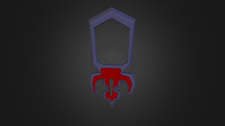 Amulet of Fury (or) 3D Model