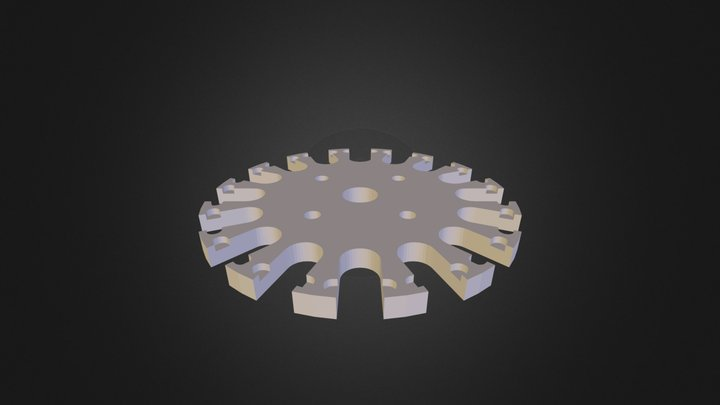 roue V1.STL 3D Model