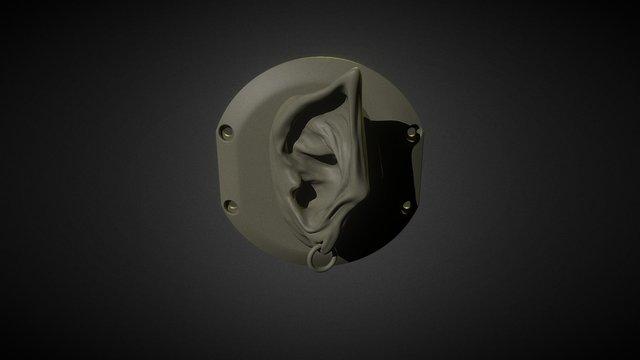 Orc Ear 3D Model