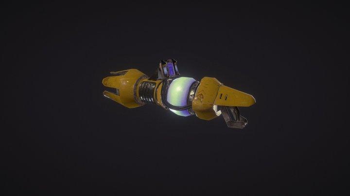 Plasma Canon 3D Model