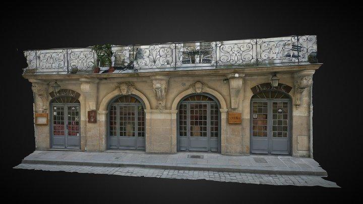 Immeuble XVIIIe s - Feydeau NANTES (France) 3D Model