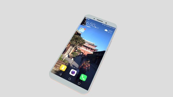HUAWEI cell phone 3D Model