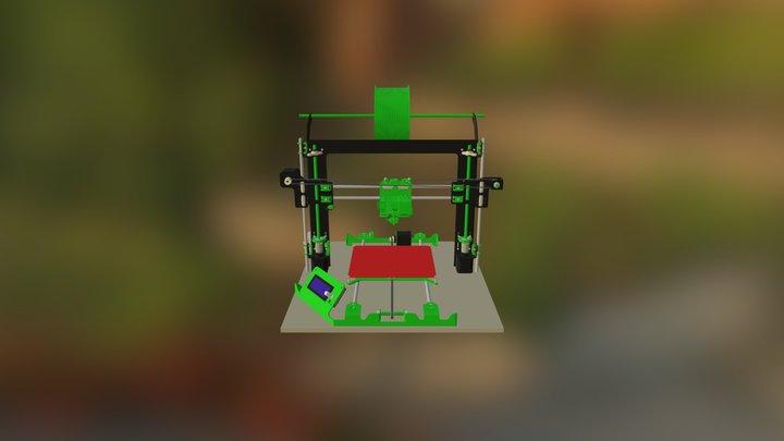 Frax1 0 3D Model