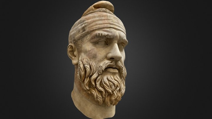 Head of Dace ~ Vatican Museums 3D Model