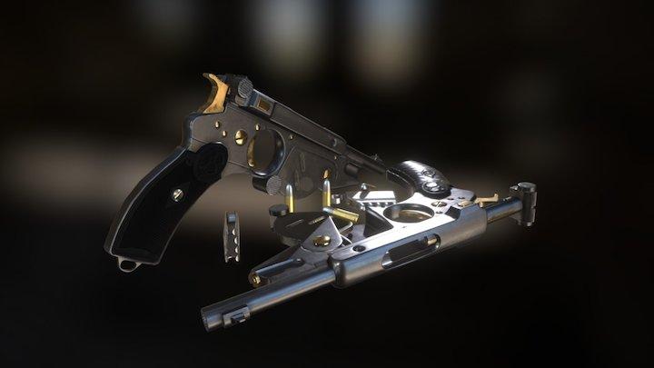 Bergmann no 2, 1896 3D Model